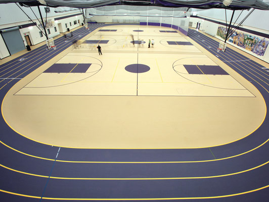 Running Track Surface