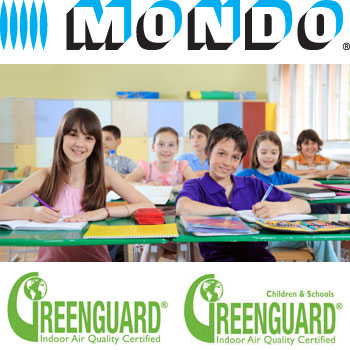 Mondo Earns Greenguard Children & Schools Certification For 13 Products
