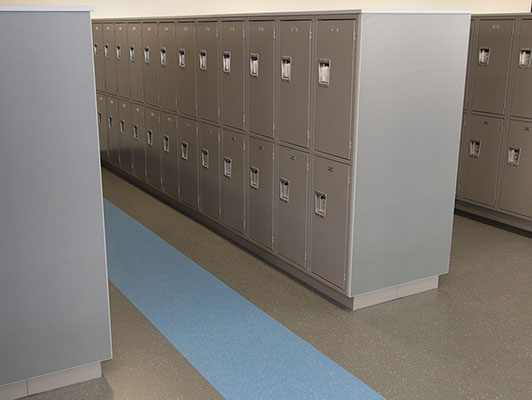Alexandria Area High School Rubber Flooring