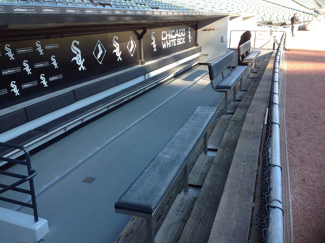 Chicago White Sox Dugout - Baseball / Softball Field Turf