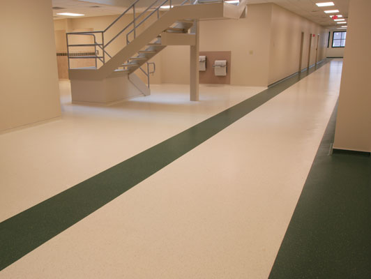 Cook Medical Factory Rubber Flooring