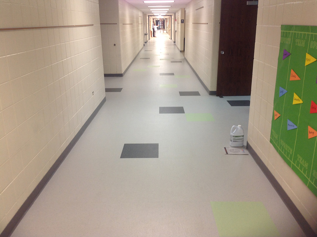 School District 93 - Commercial Rubber Floor