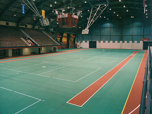 Gym Synthetic Floors - Illinois State University