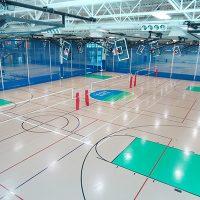 Pleasant Prairie Rec Plex - Gym Rubber Flooring