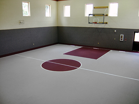 Roscoe Church - Rubber Gym Flooring