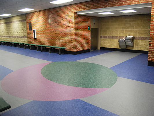 Northbrook Ice Arena - Sports Flooring KIefer USA