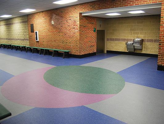 Northbrook Ice Arena - Sports Flooring KIefer USA