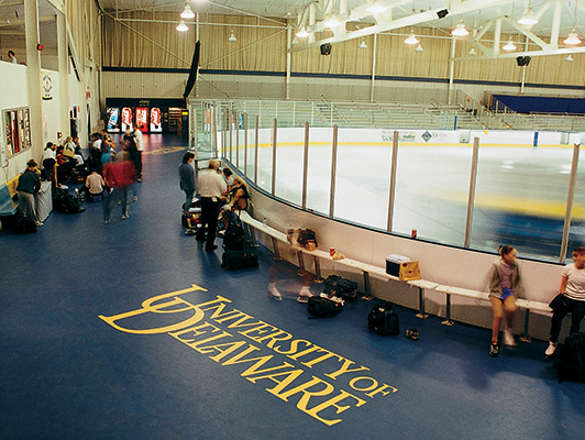 Delaware University - Ice Arena Flooring
