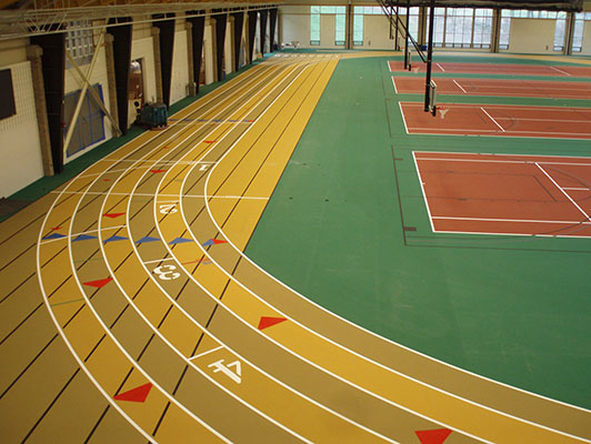 Wooster College - Indoor Track / Fieldhouse Flooring