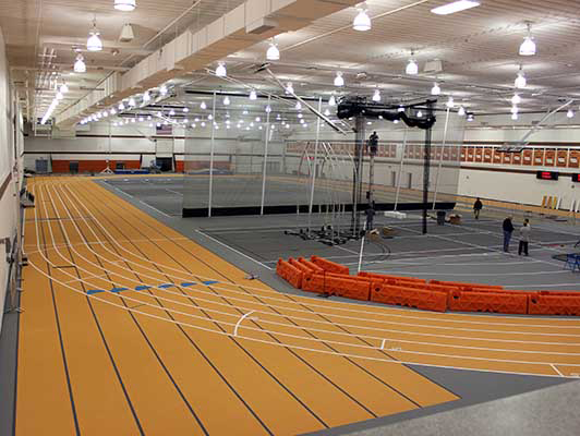Doane College - Indoor Track / Fieldhouse Flooring