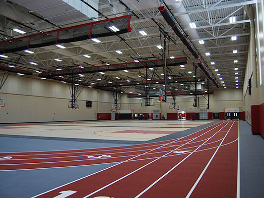 Rockford East High School - Running Track Surfaces
