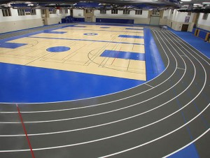 Joilet Central High School - Indoor Track / Fieldhouse Flooring