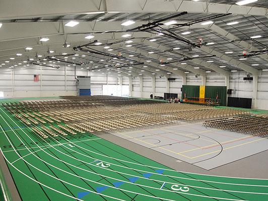 Tiffin University - Indoor Track / Field House Flooring