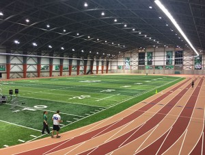University of North Dakota - Indoor Track / Fieldhouse Flooring