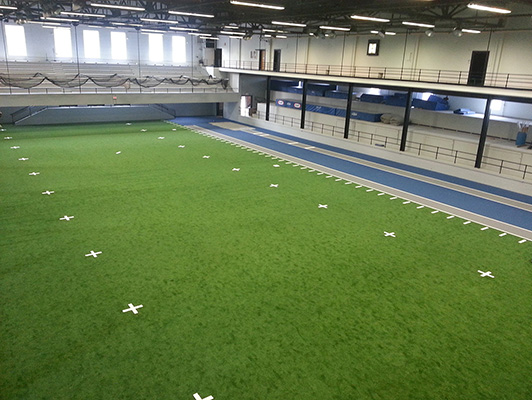 Indoor Turf Drake University