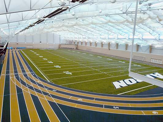 Indoor Turf University Akron