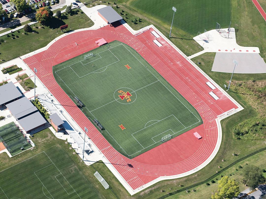 Iowa State University Soccer Turf
