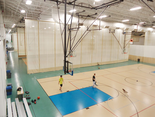 Libertyville Sports Complex Flooring