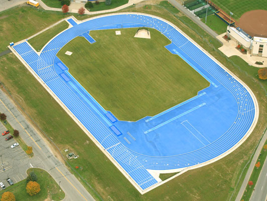 University Of Notre Dame Outdoor Mondo Track