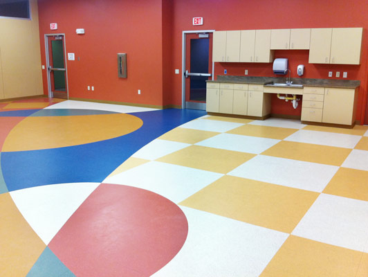 Sterling Park District Sports Flooring