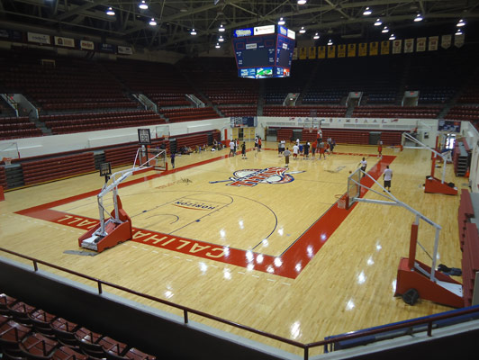University Of Detroit - Rubber Gym Flooring