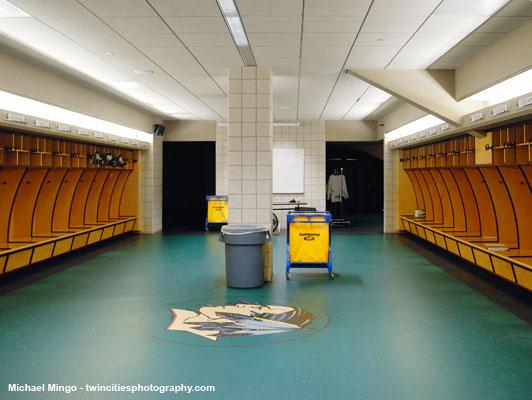 University Of North Dakota Ice Arena Flooring