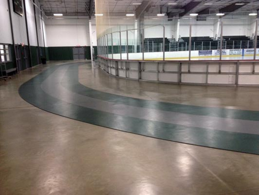 West Fargo Park District Ice Arena Flooring