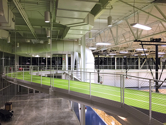 Workman Sports & Wellness Complex, Duraflex Track, IL