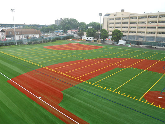 Baseball / Softball Synthetic Turf Herbert Lehman High School