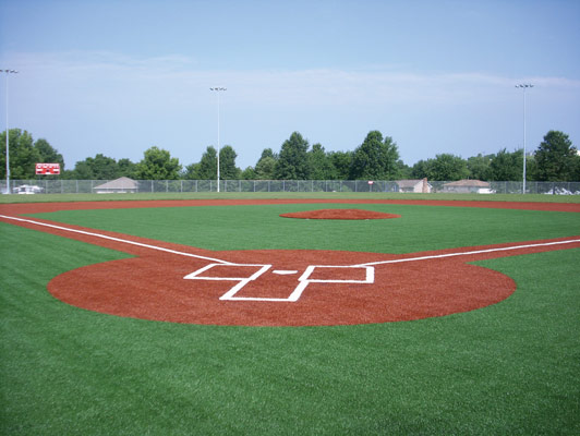 Odessa High School Baseball / Softball Field Turf
