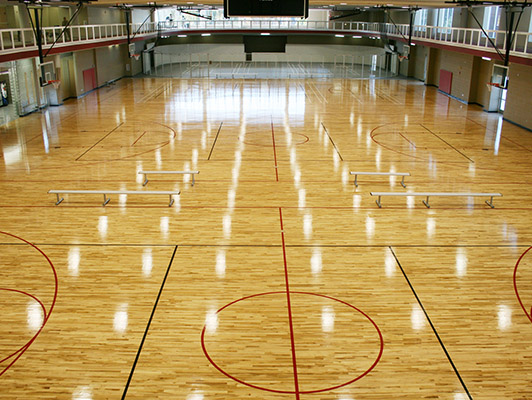 Basketball Hardwood Flooring Connor Maple Flooring