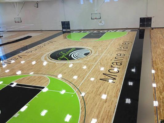 Basketball Flooring Moraine Valley Community College
