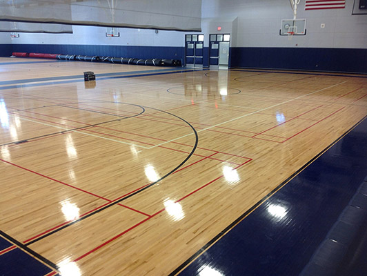 Basketball Hardwood Flooring Connor Maple Flooring Connor