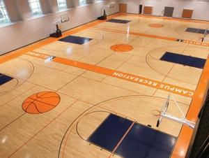 University of Illinois Basketball Flooring