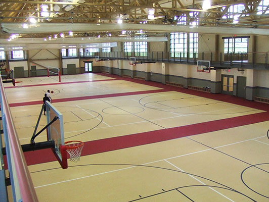 Basketball Flooring Youngstown State University