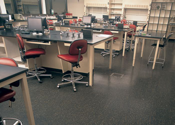 commercial flooring for research and development facilities, KieferUSA