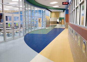 Commercial Flooring for Schools Kiefer USA