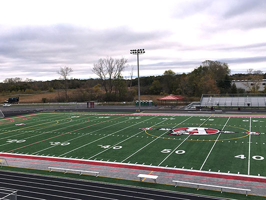 Antioch High School Football Field Turf