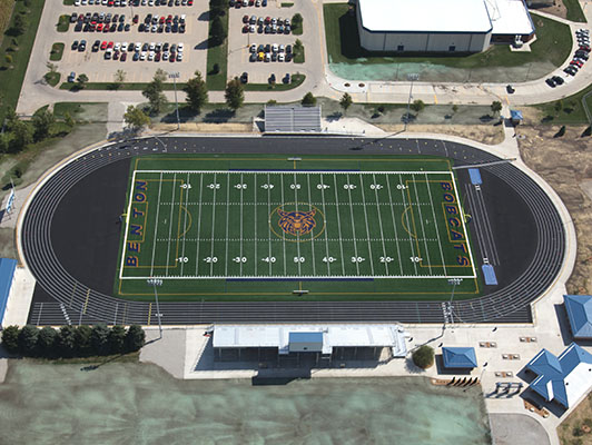 Benton High School Football Field Turf