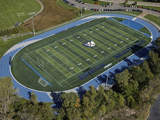 Breck High School Football Field Turf