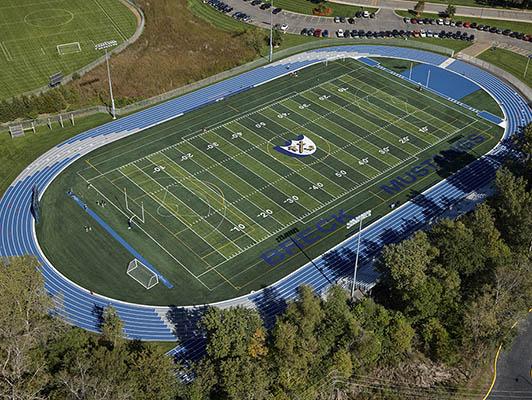 Breck High School Football Field Turf