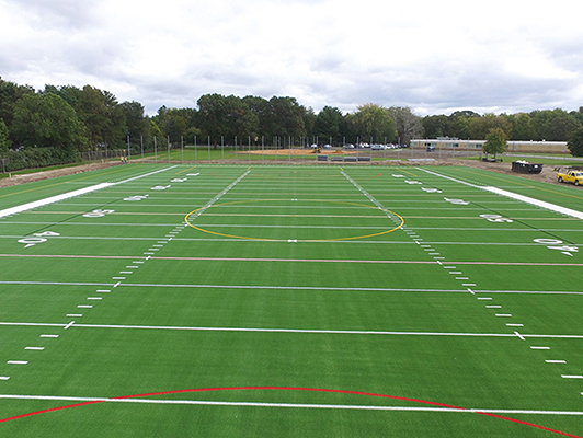 Centennial High School - Football Field Turf - Synthetic Turf