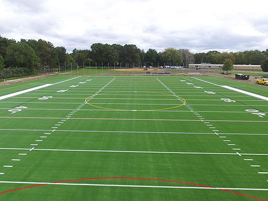 Centennial High School - Football Field Turf - Synthetic Turf