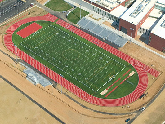 Fort Zumwalt East High School Football Artificial Turf