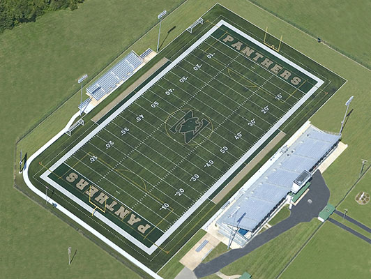 Fort Zumwalt North High School Football Artificial Turf