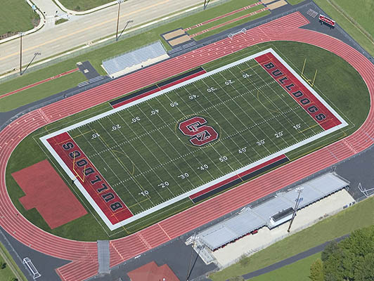 Fort Zumwalt South High School Football Artificial Turf