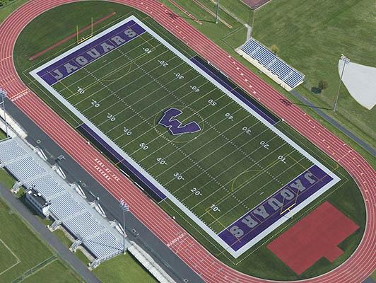 Fort Zumwalt West High School Football Artificial Turf
