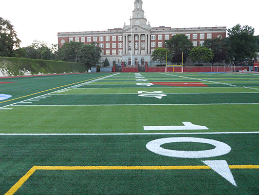 Franklin K Lane High School Football Field Artificial Turf