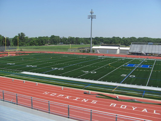 Hopkins High School Football Field Artificial Turf