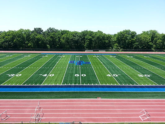 Oak Park High School Football Field Artificial Turf